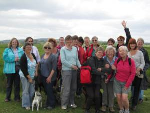Walking Group Photo